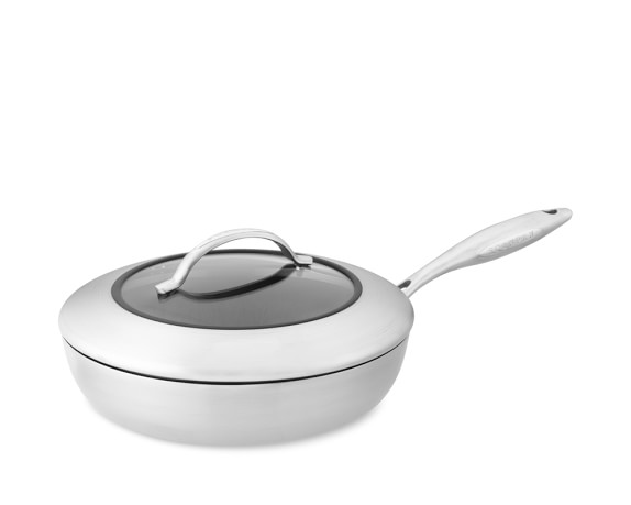 Scanpan CTX Nonstick Sauté Pan with Lid, 2 1/2-Qt.