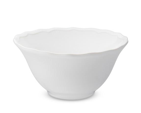 Alexia Cereal Bowls, Set of 4, White