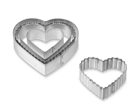 Heart Cookie Cutters, Set of 5