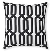 Outdoor Printed Graphic Links Pillow, 22