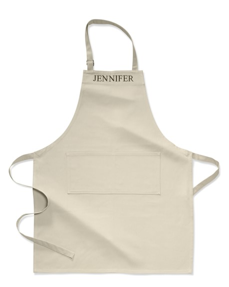 Personalized Adult Apron, Khaki