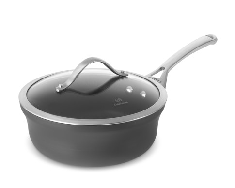 Calphalon Contemporary Nonstick Shallow Saucepan, 2 1/2-Qt.
