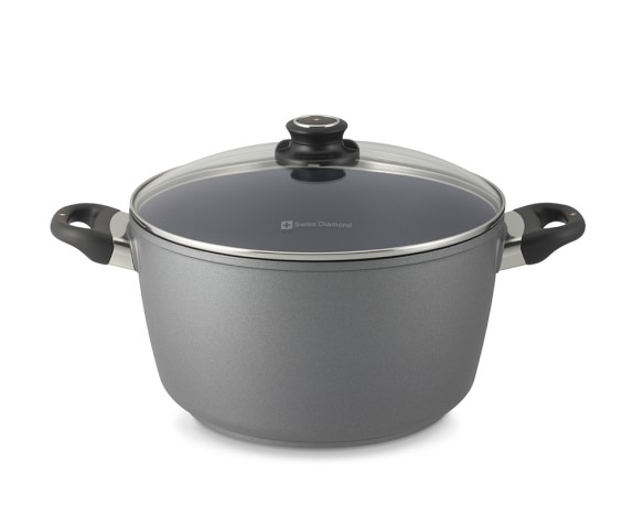 Swiss Diamond Nonstick Stock Pot, 8 1/2-Qt.