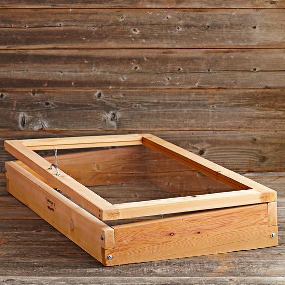 Farmer D Cedar Cold Frame, 2' x 4'