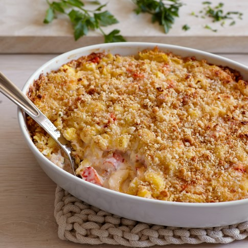 Gluten-Free Lobster Mac and Cheese