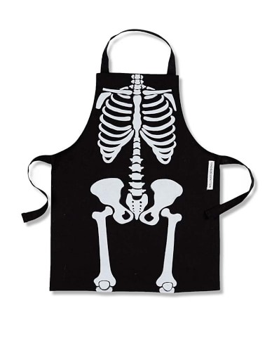 Halloween Skeleton Kids Apron