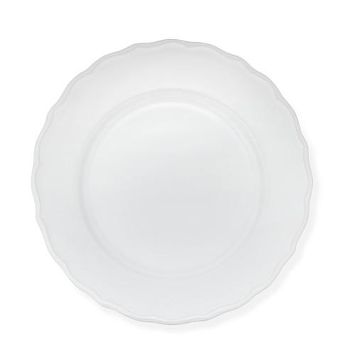 Alexia Dinner Plates, Set of 4, White