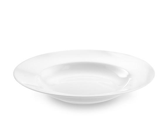 Apilco Tuileries Porcelain Soup Plates, Set of 4