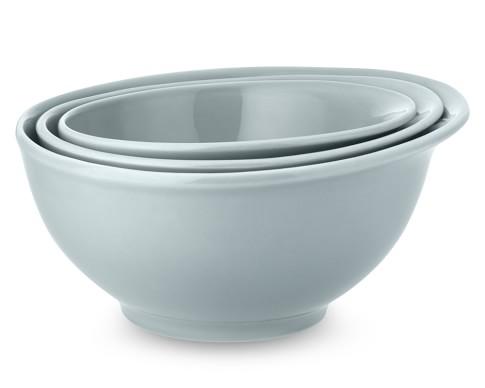 Bistro Mixing Bowls, Set of 3, Blue