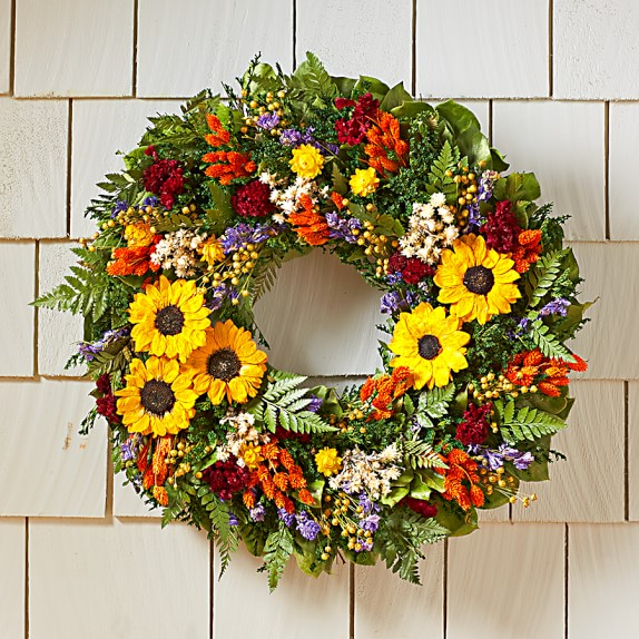 Sunflower Patch Wreath