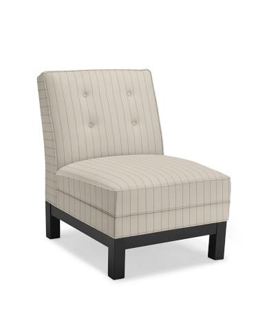 Abigail Chair, French Stripe, Admiral