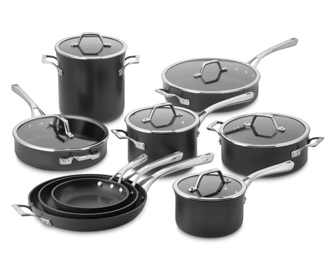 Calphalon Elite Nonstick 15-Piece Cookware Set