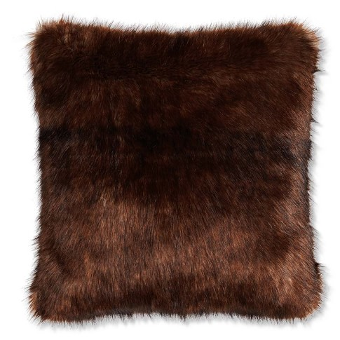 Williams-Sonoma Faux Fur Pillow Cover, 22