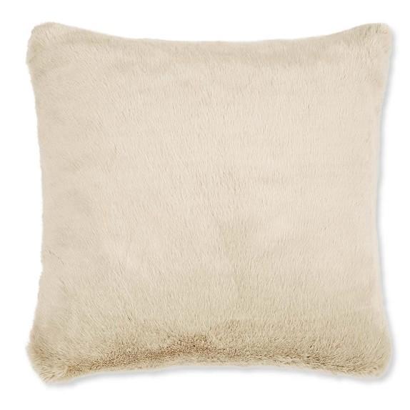 Williams-Sonoma Faux Fur Pillow Cover, 22