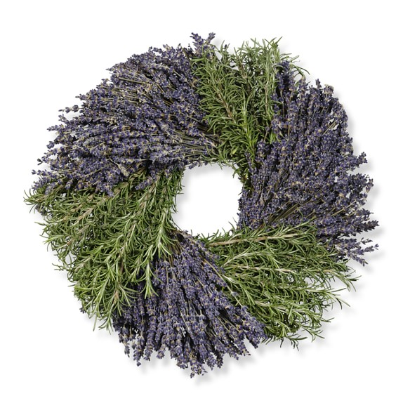 Rosemary & Lavender Wreath, 14""