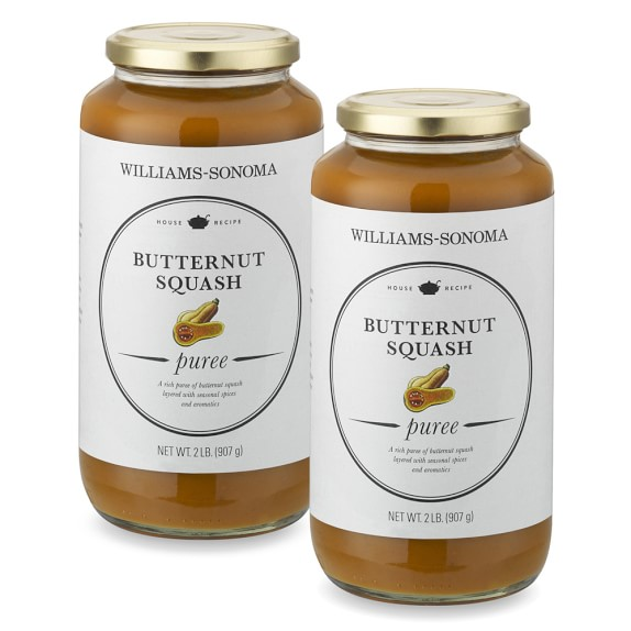 Williams-Sonoma Organic Butternut Squash Puree, Set of 2