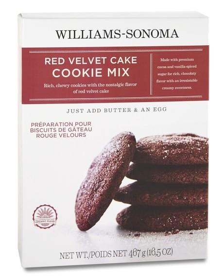 Williams-Sonoma Red Velvet Cookie Mix