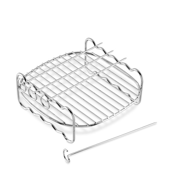 Philips Viva Digital AirFryer Double Layer Rack with Skewers