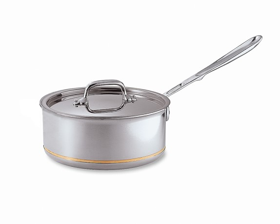 All-Clad Copper Core Saucepan, 2-Qt.