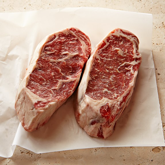 Strassburger Prime Dry Aged Boneless New York Strip Steak