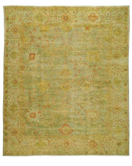 Green Meadows Oushak Rug, 8' X 10'