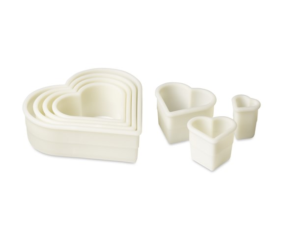de Buyer Cookie Cutter Set, Heart