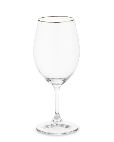 Riedel Platinum Band Water Goblets, Set of 2