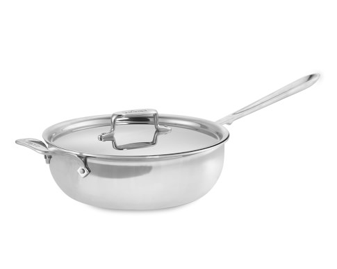 All-Clad d5 Stainless-Steel Essential Pan, 4-Qt.