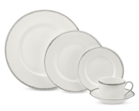 Wedgwood Silver Aster 5-Piece Place Setting