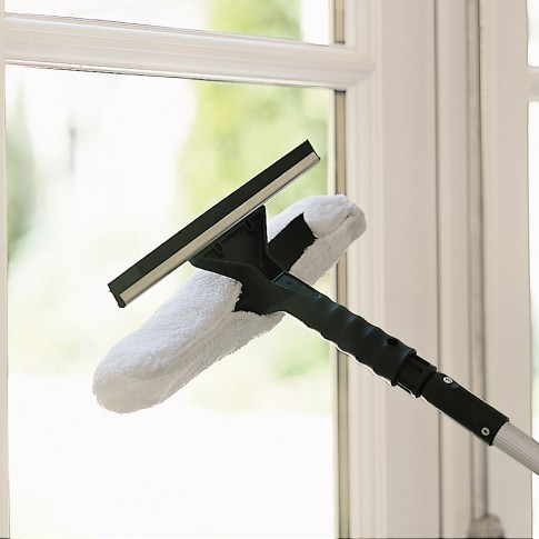 Extendable Pole Microfiber Window Washer Attachment