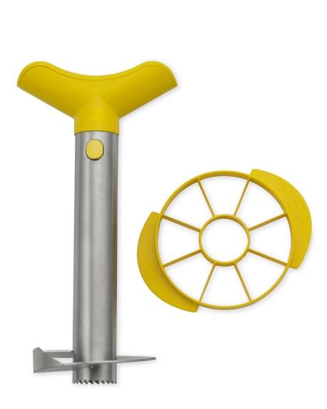 Stainless-Steel Pineapple Slicer & Dicer
