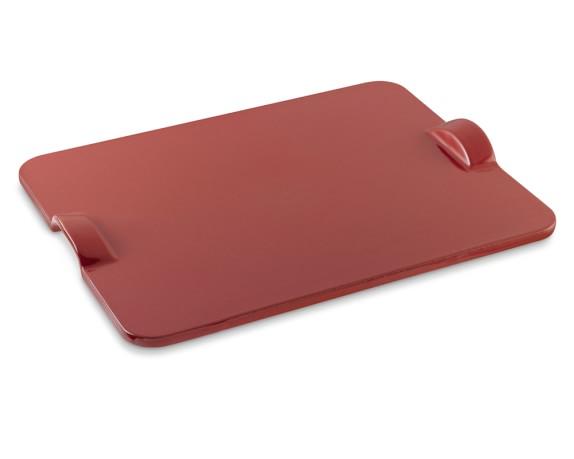 Emile Henry Rectangular Baking Stone, Red