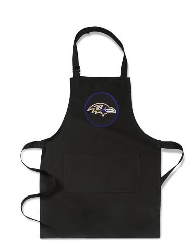 <i>NFL</i>&#8482; Baltimore Ravens Kids Apron, Black