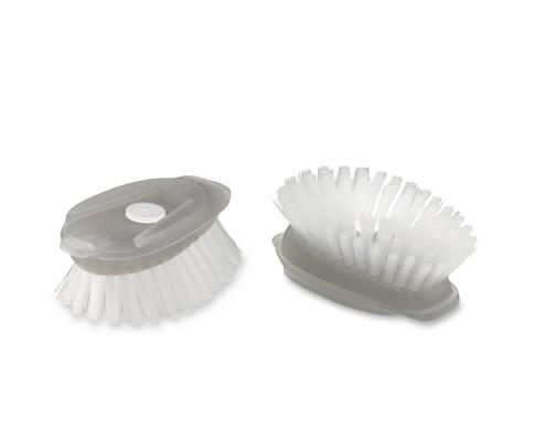 OXO Stainless-Steel Dish Brush Refills, Set of 2