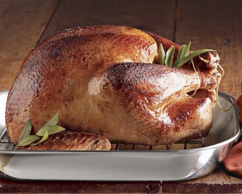 Willie Bird Fresh Free-Range Organic Turkey, Thanksgiving Delivery, 10-12 lbs.