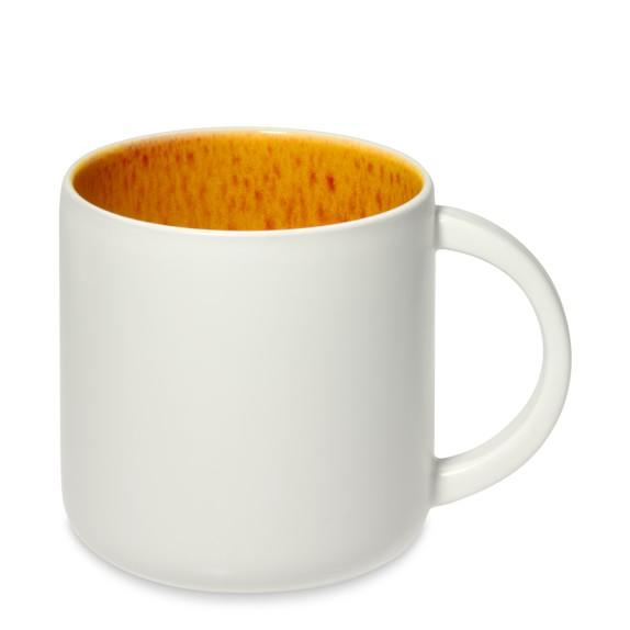 Jars Cantine Mugs, Set of 4, Orange