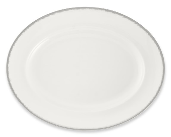 Wedgwood Silver Aster Oval Platter