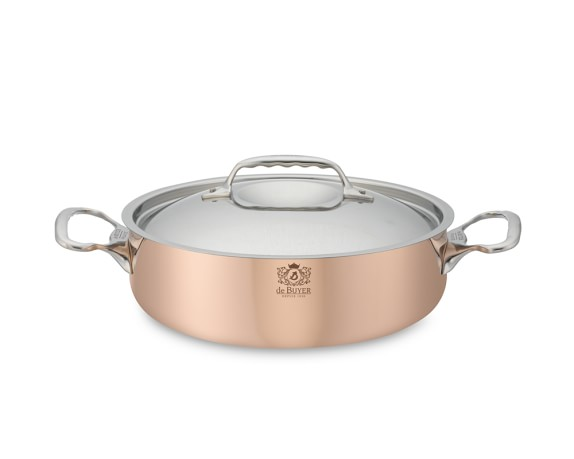 de Buyer Prima Matera Copper Sauteuse, 3-Qt.