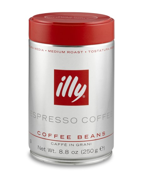 Illy Espresso, Whole Bean, Medium Roast