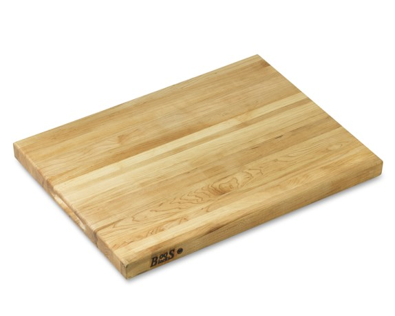 "Boos Edge-Grain Maple Cutting Board, Large, 24"" x 18"""