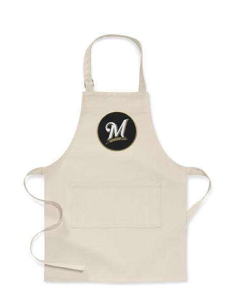 MLB™ Milwaukee Brewers, Kids Apron, Khaki