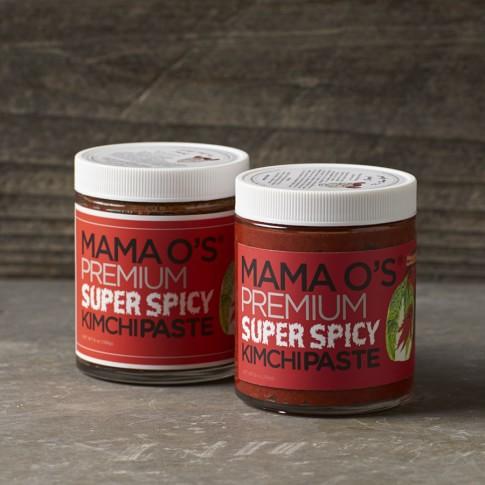 Mama O's Kimchi Paste, Set of 2, Spicy