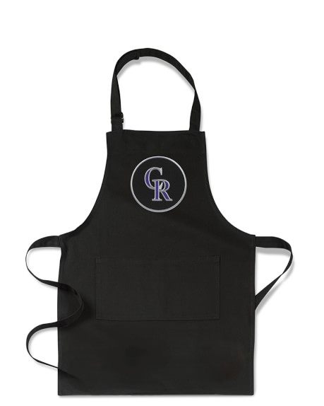 MLB™ Colorado Rockies, Kids Apron, Black