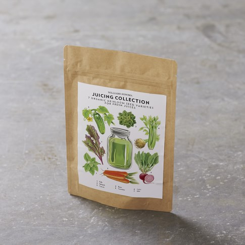 Living Seed Juicing Collection, Set of 7