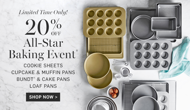20% Off All-Star Baking Event