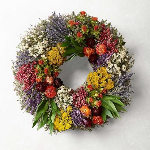 Farmers' Market Wreath, 16