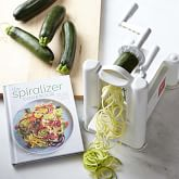Paderno Spiralizer 3-Blade and Spiralizer Book