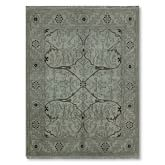 Spice Market Overdyed Rug, 6' X 9', Teal