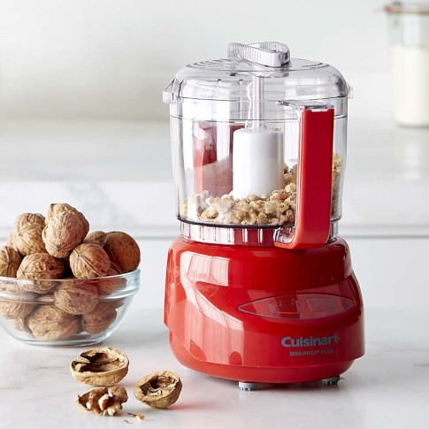 Cuisinart Elite Mini Prep Food Processor, 3-Cup, Red
