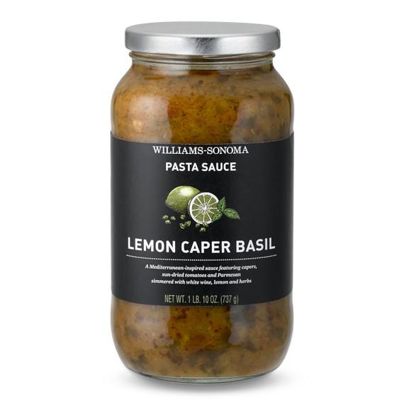 Williams-Sonoma Lemon Caper Basil Pasta Sauce | Williams-Sonoma